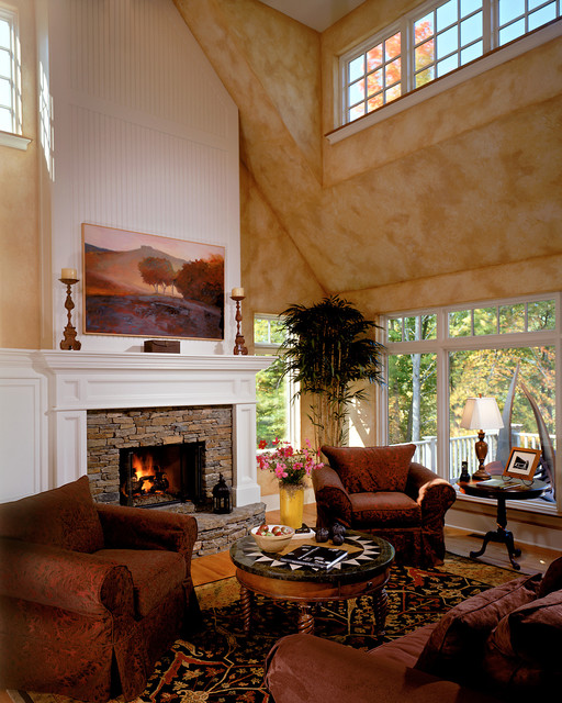 2001 Showcase traditional living room