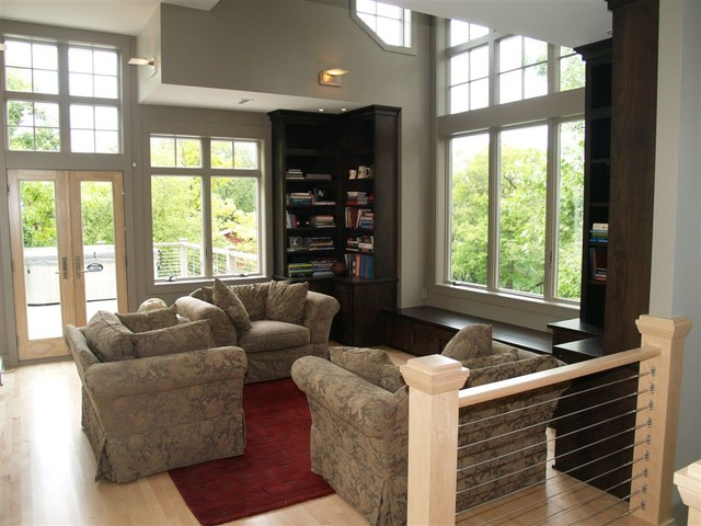 2007 'Milwaukee Home and Fine Living' Best of Competition Award Winner contemporary-living-room