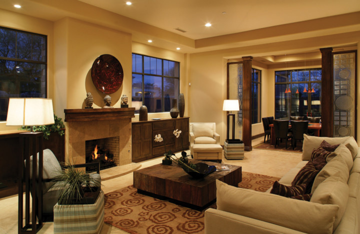 * 2007 SOLE AWARD WINNER - MODEL HOME CATEGORY* ASID  - Southwest Contemporary