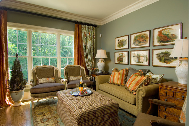 2007 Southern Living Showcase Home Traditional Living Room Awesome Ideas