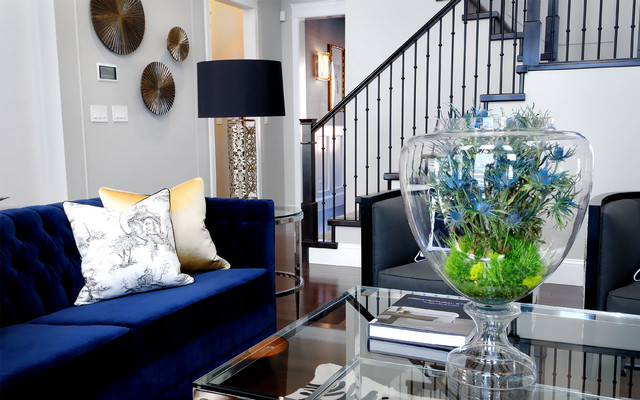 2011 HHL Living Room - contemporary - living room - other metro
