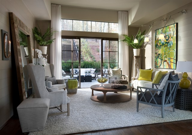 2012 hgtv green home transitional family room for Living room atlanta