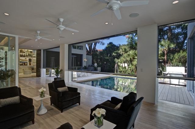 2012 New American Home Contemporary Living Room By