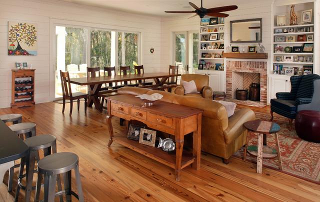 2012 New Custom Home - PVB traditional-living-room