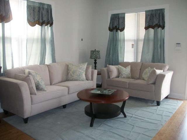2012 New Home Construction traditional-living-room