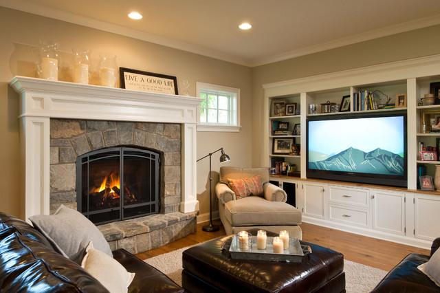 2012 showcase of homes granite street traditional for Tv room furniture layout ideas