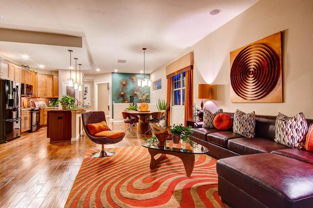 2013 Denver Parade of Homes - Contemporary - Living Room - Denver