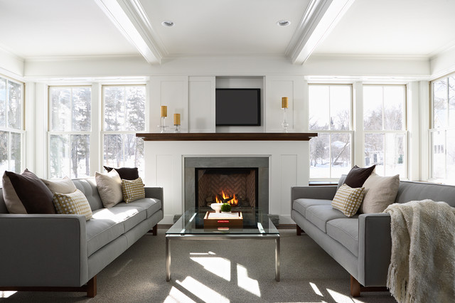 2013 Green Dream Home - Contemporary - Living Room - Minneapolis ...