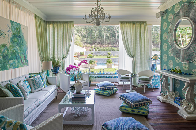 beach style living room - Spring 2016 Home Décor Trends
