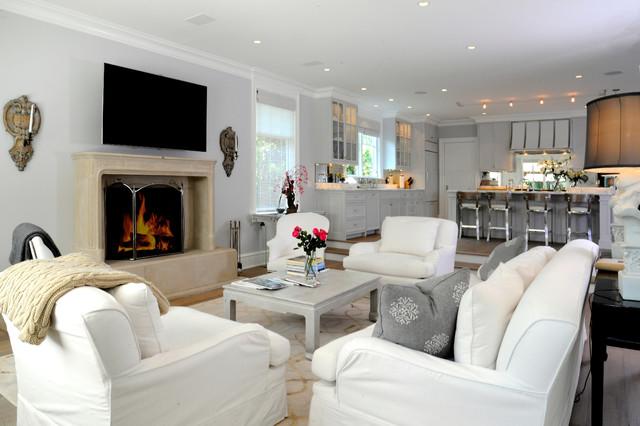 2013 HOBI Award - Best In Town Custom Home traditional-living-room