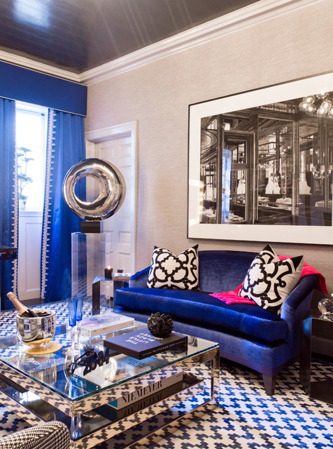 2013 Holiday House NYC - Eclectic - Living Room - New York ...