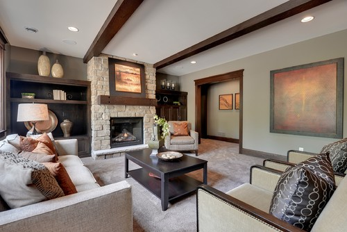 Earth Tones - Living Room