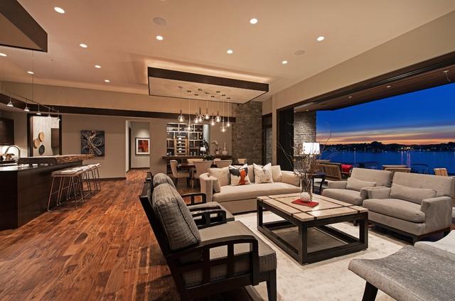 Luxury Home Tour Avant Garde Retreat Contemporary - Avant garde living rooms