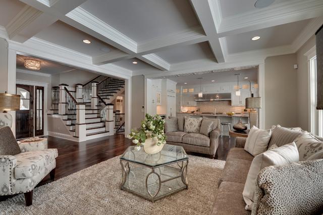 Genial Elegant Living Room Photo In Minneapolis