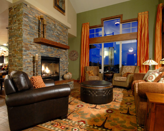 Craftsman style living room design ideas pictures for Craftsman style living room ideas