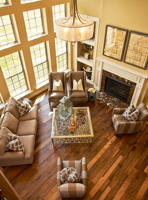 2013 St. Jude Dream Home Traditional Living Room Part 34