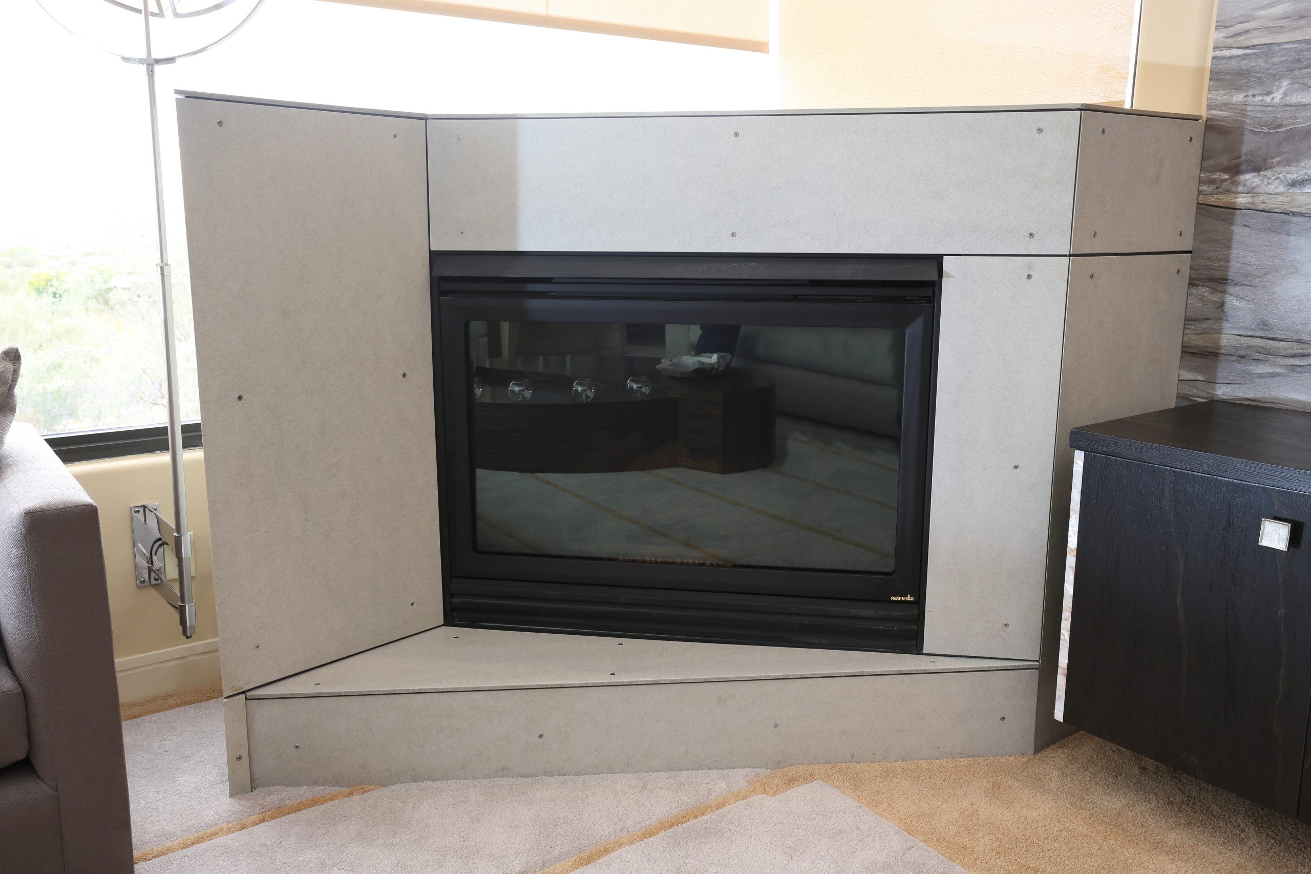 * 2014 FIRST PLACE WINNER - ASID - FURNITURE *- Fireplace