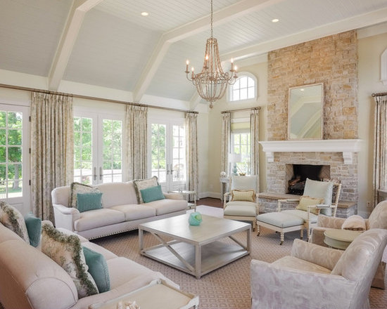 Traditional Window Treatments For Large Windows Living
