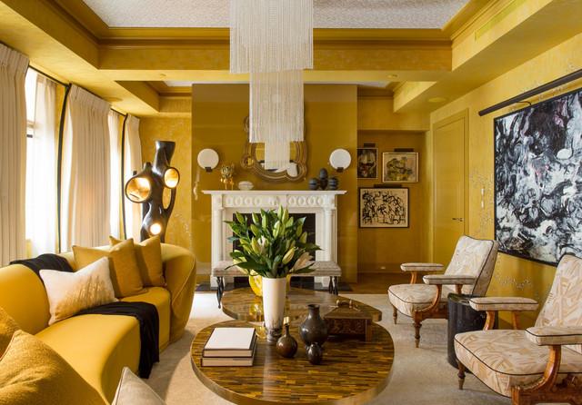 2018 Kips Bay Decorator Showcase Eclectic Living Room