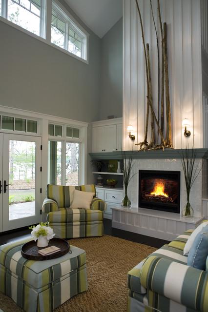 21st Century Bungalow contemporary-living-room