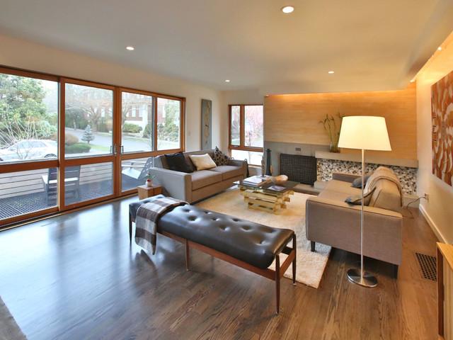 2222 Ne Stanton St Portland Or Contemporary Living Room Portland By Dana Austin Griggs