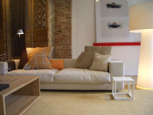 22nd Street Loft eclectic-living-room