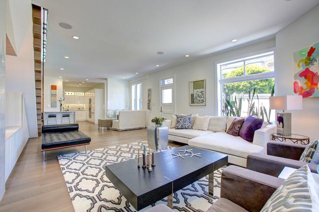 2303 filbert street contemporary living room san for Living room elevation