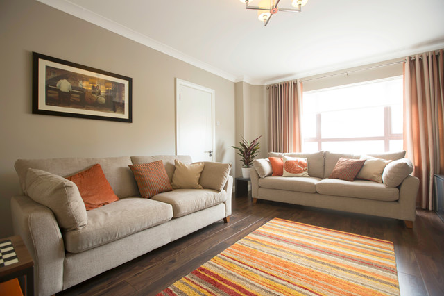 3 Bed Semi Detached Refurbishment Extension Modern Living Room Dublin By Carton Interiors Houzz Au