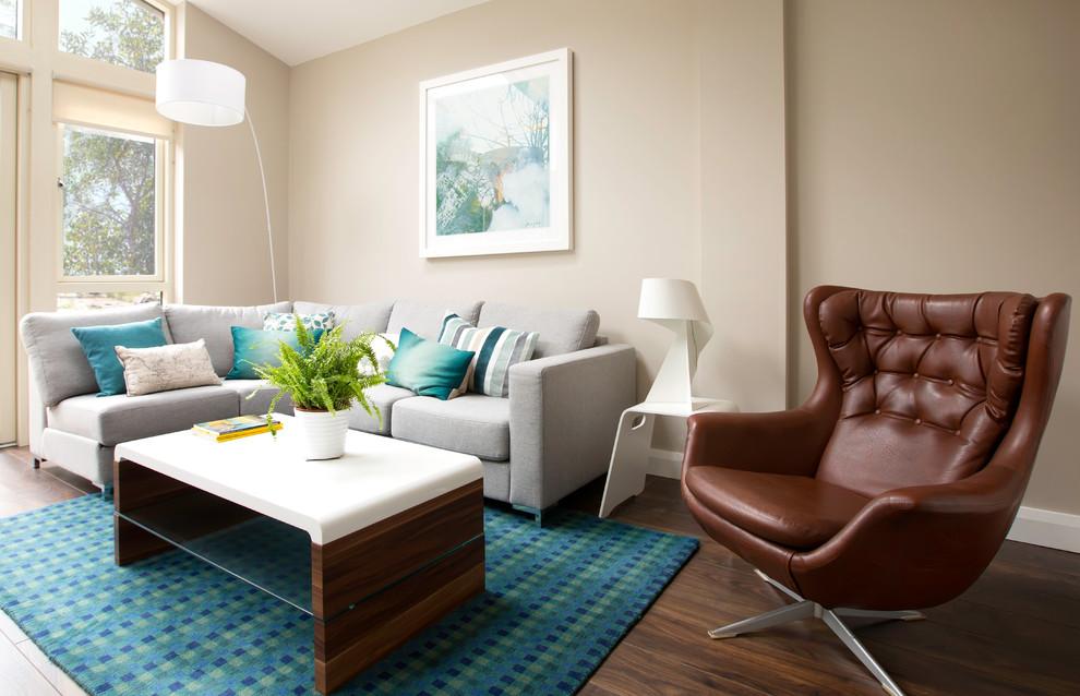 3 Bed Semi Detached Refurbishment Extension Modern Living Room Dublin By Carton Interiors