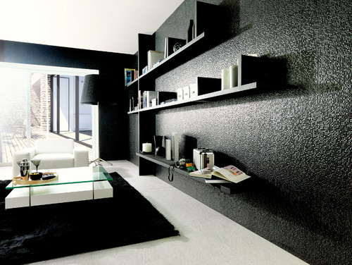 3-Dimensional Feature Tiles - Cubica Negro