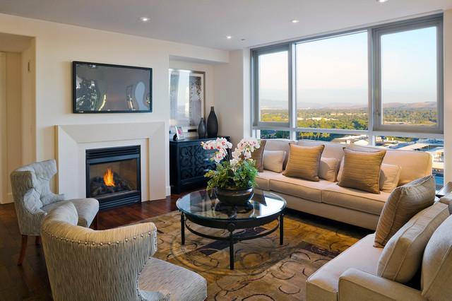 3000 The Plaza contemporary-living-room