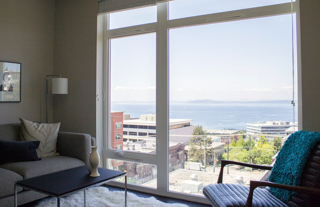 306 Queen Anne Contemporary Living Room Seattle By