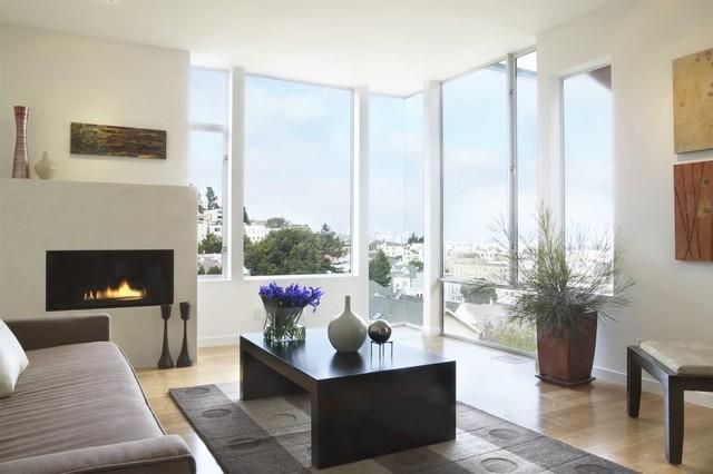 30th Street Residence modern-living-room