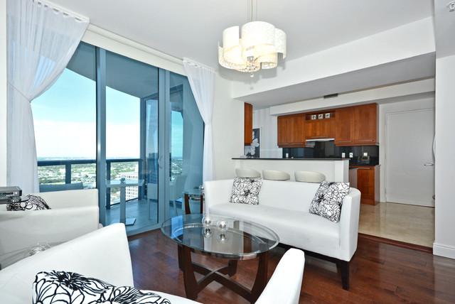 333 Las Olas Way #3006 contemporary-living-room
