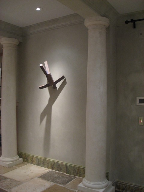 Wall Art Lighting 3d wall art with shadow - contemporary - living room - denver -