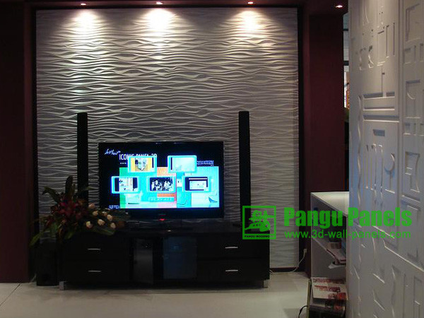 3D Wall Panels For Interior Decor Contemporary Living Room