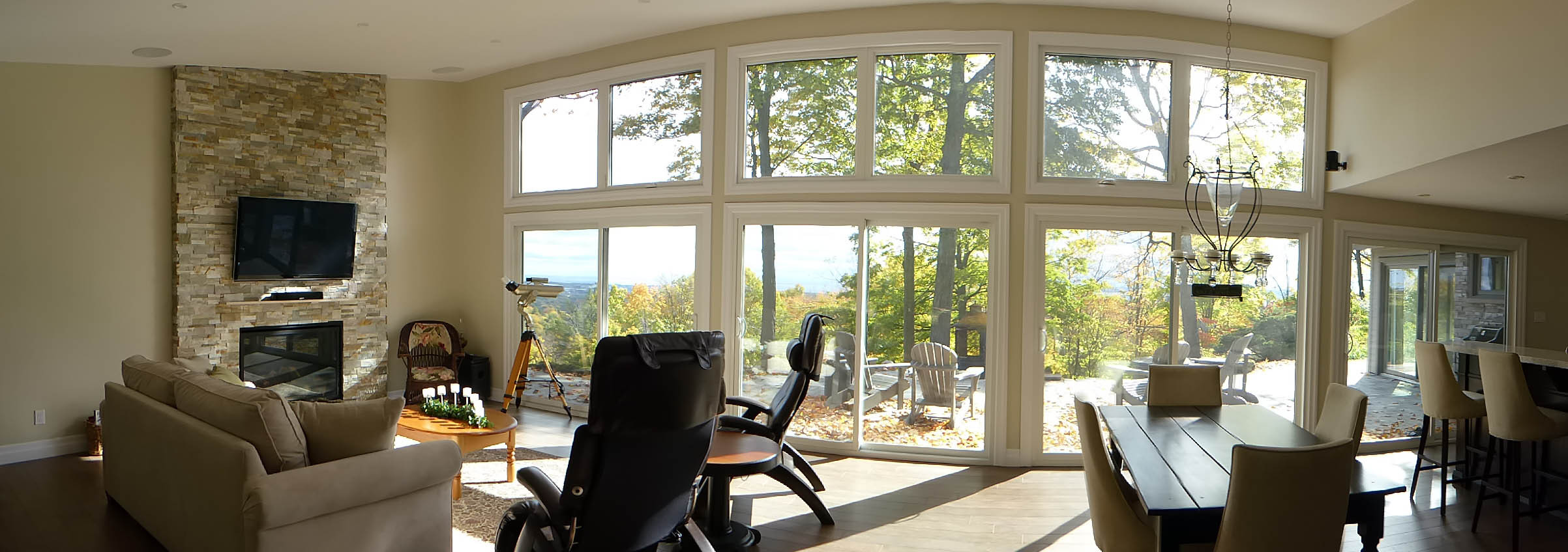 3rd Conc. Burlington: Open room with a view