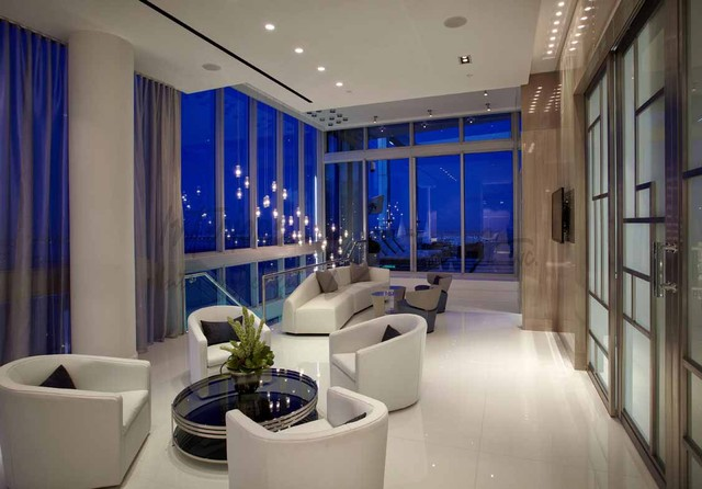 story penthouse miami contemporary living room miami by