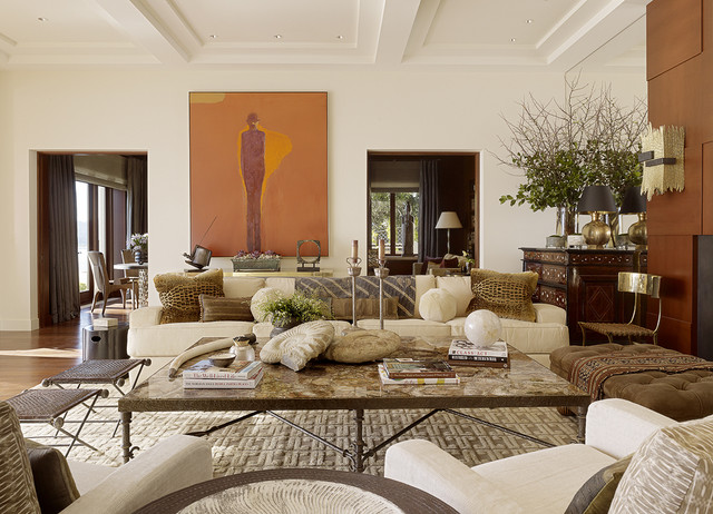 Contemporary Living Room by Tucker & Marks