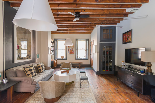 422 Green St Eclectic Living Room Philadelphia By