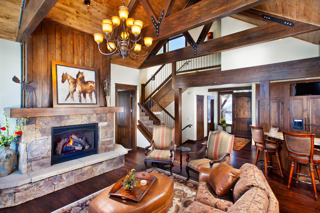 474 Gold Run Road traditional-family-room