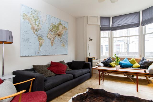 50's Chic midcentury-living-room