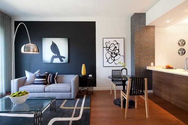 544 Union Brooklyn - Contemporary - Living Room - New York ...