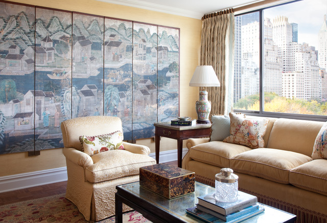 5th Avenue Pied a Terre traditional-living-room