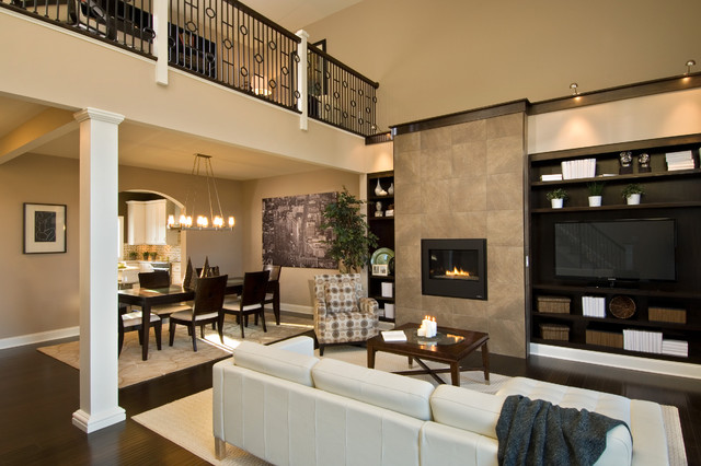 6 Mulberry Drive Great Room Contemporary Living Boston By Barbera Homes