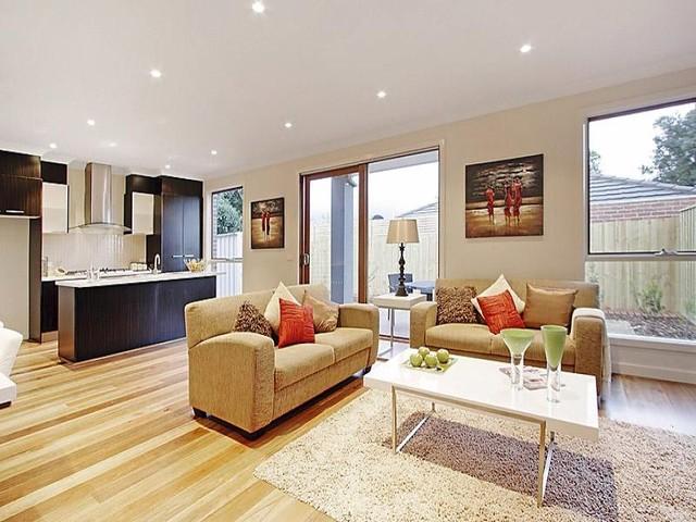 191 Balwyn Road, Balwyn contemporary-living-room