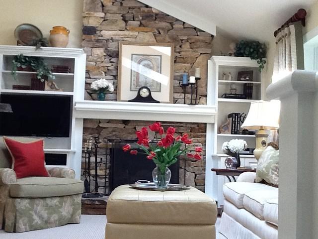 60 39 S Redo Traditional Living Room Baltimore By Master Plan Interi