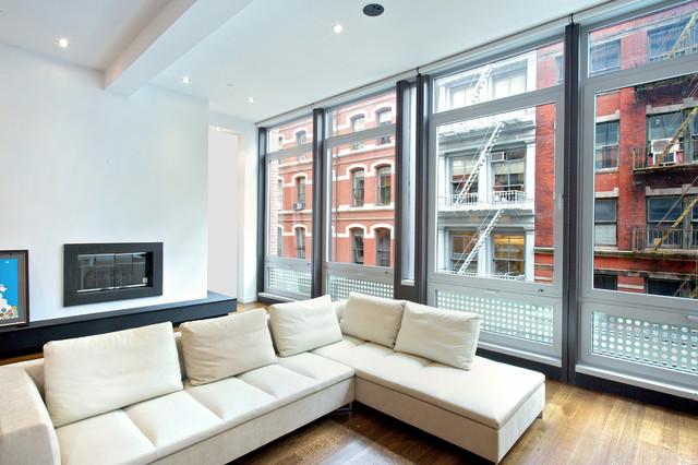 72 Mercer Street living-room