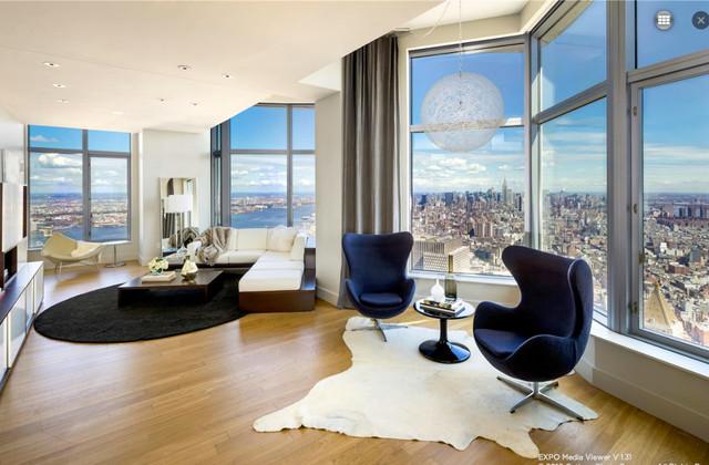 8 Spruce Street PH Contemporary Living Room New York