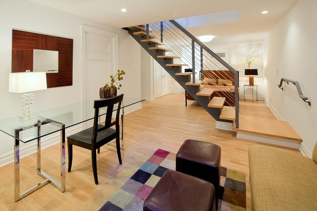 82 West 12th Street contemporary-living-room